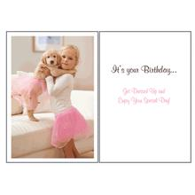 Birthday Greeting Card by Dog Speak - Playing Dress Up