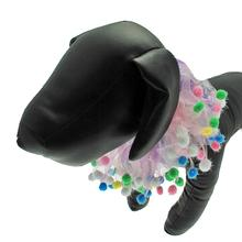 Charming Pet Birthday Pom Pom Dog Neck Scrunchy