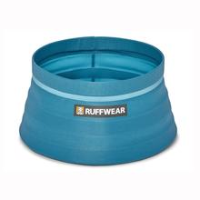 Bivy Travel Dog Bowl By RuffWear - Blue Spring