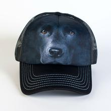 Black Lab Face Trucker Hat by The Mountain