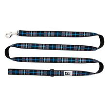 Black Twill Plaid Dog Leash by RC Pets
