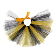 Black/Yellow Tulle Dog Tutu by Pawpatu