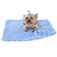 The Dog Squad Paisley Dog Blanket - Blue