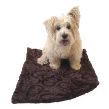 The Dog Squad Paisley Dog Blanket - Brown