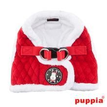 Blitzen Dog Harness Vest by Puppia - Red