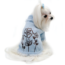 Blooming Cute Dog Sweater By Truly Oscar