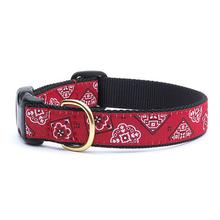 Red Bandana Dog Collar by Up Country