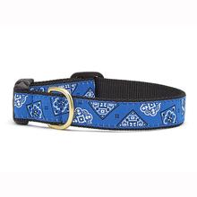 Blue Bandana Dog Collar by Up Country