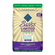 Blue Buffalo Basics Limited Ingredients Grain Free Dog Food - Turkey & Potato