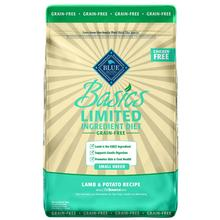 Blue Buffalo Basics Limited Ingredient Grain-Free Small Breed Dog Food - Lamb & Potato