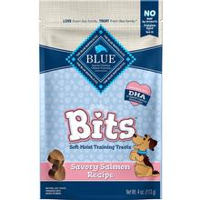 Blue Buffalo Bits Soft-Moist Dog Training Treats - Savory Salmon