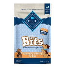 Blue Buffalo Bits Soft-Moist Dog Training Treats - Tempting Turkey
