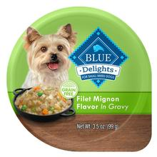 Blue Buffalo Divine Delights Small Breed Dog Food - Filet Mignon