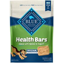 Blue Buffalo Health Bars Baked with Apples & Yogurt Dog Treats