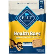 Blue Buffalo Health Bars Baked with Banana & Yogurt Dog Treats