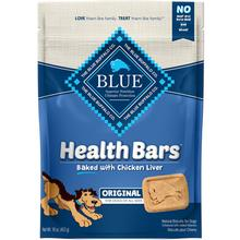 Blue Buffalo Health Bars Baked with Chicken Liver Dog Treats