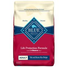 Blue Buffalo Life Protection Formula Dog Food - Fish & Brown Rice