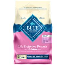 Blue Buffalo Life Protection Formula Small Breed Adult Dog Food - Chicken & Brown Rice