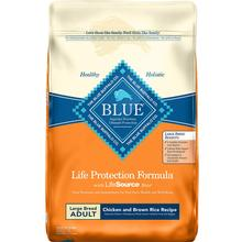 Blue Buffalo Life Protection Large Breed Adult Dry Dog Food - Chicken & Brown Rice