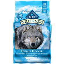 Blue Buffalo Wilderness Denali Dinner Grain Free Dog Food - Wild Salmon, Venison & Halibut