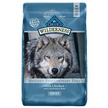 Blue Buffalo Wilderness Nature's Evolutionary Grain-Free Adult Dog Food - Chicken