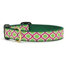 Green Kismet Dog Collar by Up Country