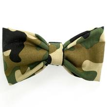Camouflage Dog Bow Tie from Daisy and Lucy