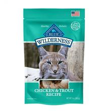 Blue Buffalo Wilderness Grain-Free Cat Treat - Chicken and Trout