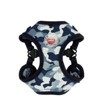 Bobby Adjustable Step-In Dog Harness by Puppia - Navy Camo