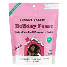 Bocce's Bakery Holiday Feast Dog Treats - Turkey, Pumpkin & Cranberry