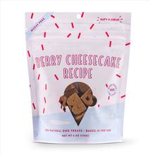 Bocce's Bakery Scoop Shop Soft & Chewy Dog Treat - Berry Cheesecake