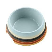Desert Stripe Dog Bowl by TarHong - Ombre
