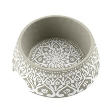 Boho Medallion Dog Bowl by TarHong - Taupe