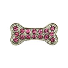Bone Barrette by foufou Dog - Pink