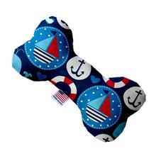 Bone Dog Toy - Anchors Away