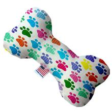 Bone Dog Toy - Confetti Paws