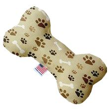 Bone Dog Toy - Mocha Paws and Bones