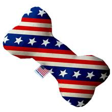 Bone Dog Toy - Stars and Stripes