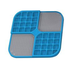 Boredom Buster Duo Slow Feeder Licking Mat - Blue