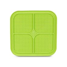 Boredom Buster Relax Dog Slow Feeder Licking Mat - Green