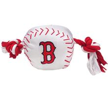 Boston Red Sox Nylon Plush Baseball Rope Toy