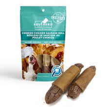 Boucherie Chorizo Chicken Sausage Roll Dog Treats