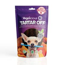 Vegalicious Tartar Off Dog Treat - Sweet Potato and Pumpkin with Cinnamon