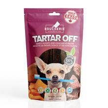 Boucherie Tartar Off Dog Treats - Sweet Potato with Kangaroo