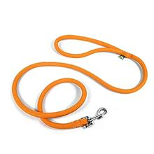 Braided Dog Leash by Yellow Dog - Orange