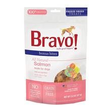 Bravo! Bonus Bites Freeze Dried Dog Treats - Salmon
