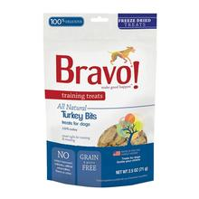 Bravo! Freeze Dried Training Dog Treats - Turkey Bits
