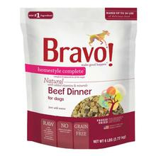Bravo! Homestyle Complete Natural Dog Food - Beef Dinner