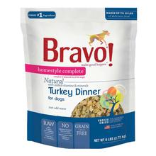 Bravo! Homestyle Complete Natural Dog Food - Turkey Dinner