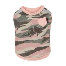 Brigadier Dog Shirt by Puppia - Pink Camo
